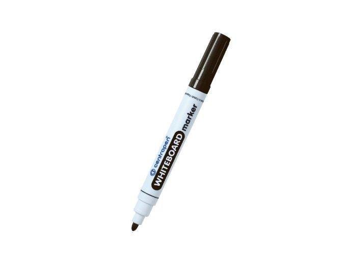 Centropen popisovač na bílé tabule černý
