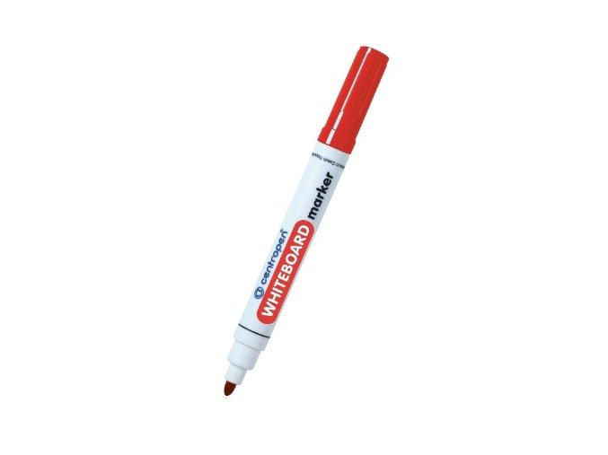 Centropen popisovač na bílé tabule červený