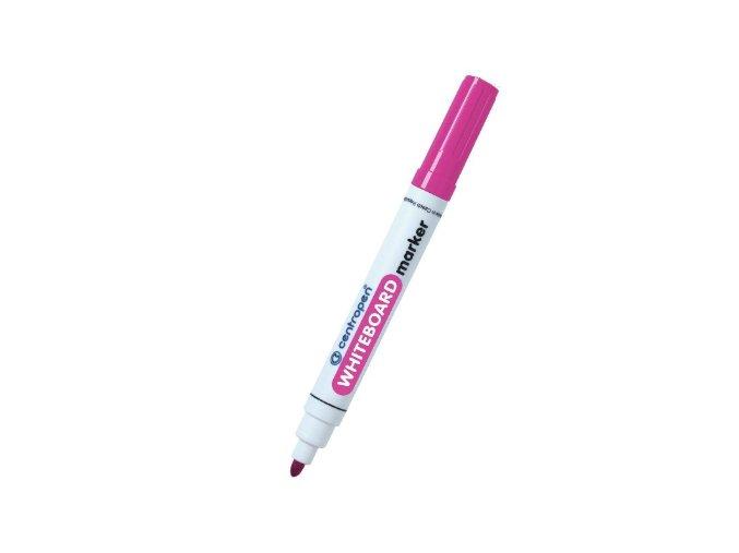 Centropen popisovač na bílé tabule růžový
