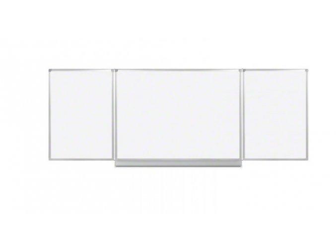 Rozevírací bílá magnetická tabule