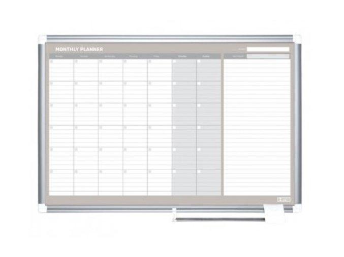 Měsíční plánovací magnetická tabule 3