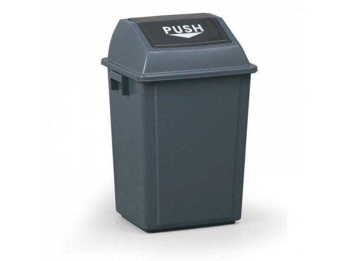 Plastový odpadkový koš 40 l