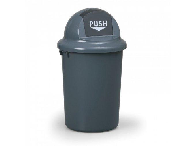 Plastový odpadkový koš 60 l