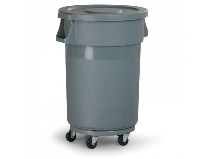 Průmyslová odpadová nádoba, 120 litrů
