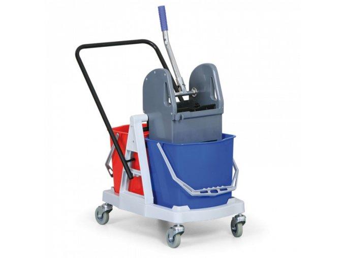 Plastový úklidový vozík