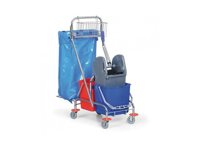 Úklidový vozík s pytlem