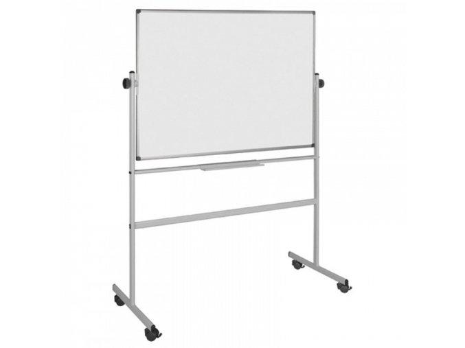 Mobilní oboustranná magnetická tabule 120 x 90 cm