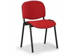 Konferenční židle VIVA, červená
