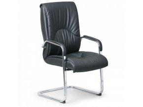 Konferenční židle LUX, černá