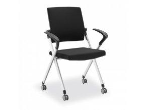 Konferenční židle Flexim, černá