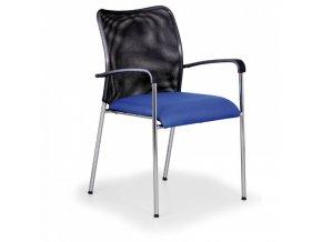 Konferenční židle John Minelli, modrá