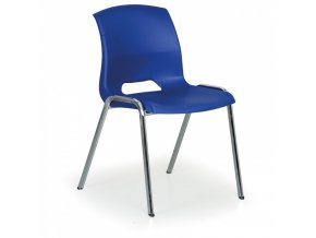 Plastová židle Cleo, modrá