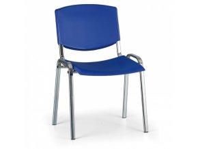 Konferenční židle EUROSEAT Smile, modrá