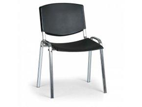Konferenční židle EUROSEAT Smile, černá