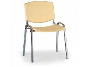 Konferenční židle EUROSEAT Smile, žlutá
