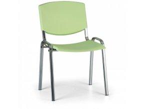 Konferenční židle EUROSEAT Smile, zelená
