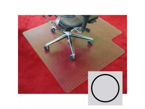 Podložka pod židli na koberce - Polypropylen, kruh, 600 mm