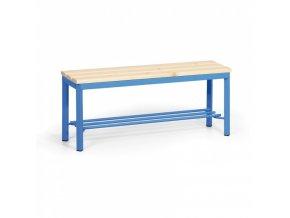 Šatní lavička s roštem, sedák - latě, délka 1 m