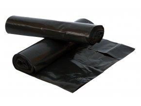 Pytle na odpad 120 l černé 40 mic