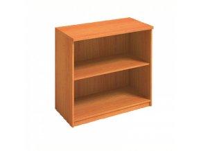 MIRELLI A+ Kancelářská skříň, třešeň, 800 x 400 x 800 mm