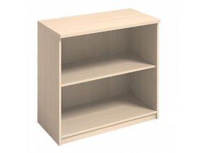 MIRELLI A+ Kancelářská skříň, bříza, 800 x 400 x 800 mm