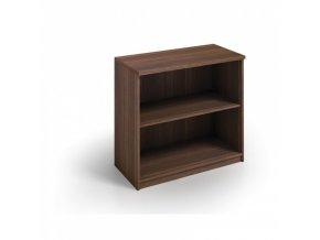 MIRELLI A+ Kancelářská skříň, ořech, 800 x 400 x 800 mm