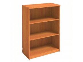 MIRELLI A+ Kancelářská skříň, třešeň, 800 x 400 x 1200 mm