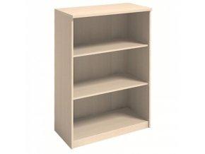 MIRELLI A+ Kancelářská skříň, bříza, 800 x 400 x 1200 mm