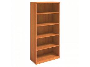 MIRELLI A+ Kancelářská skříň, třešeň, 800 x 400 x 1800 mm