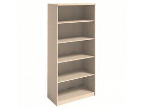 MIRELLI A+ Kancelářská skříň, bříza, 800 x 400 x 1800 mm