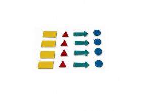 sada magnetických symbolů
