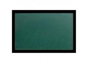 Zelená magnetická tabule s dřevěným rámem