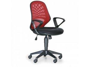 Eseat Kancelářská židle Fler - červená