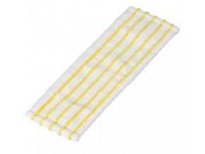 Plochý mop mikromop bílo žlutý (5 ks)