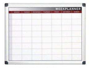 Týdenní plánovací magnetická tabule 1