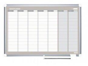 Týdenní plánovací magnetická tabule 3