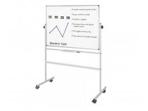 Mobilní oboustranná magnetická tabule