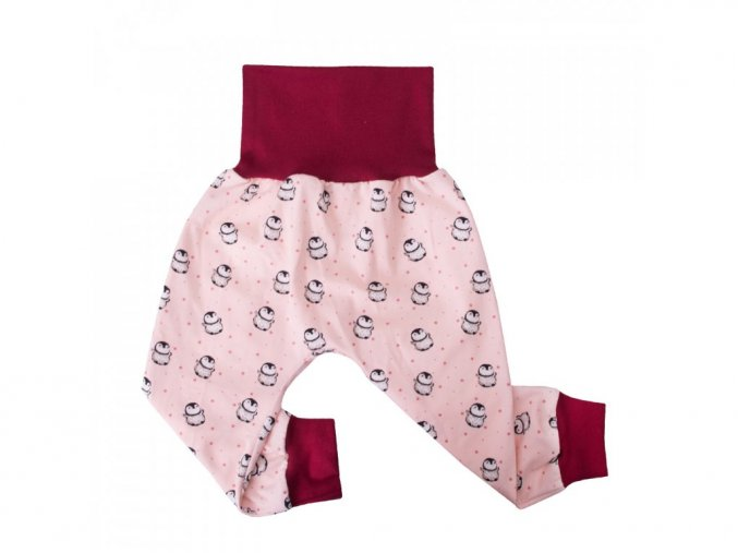 9435 6 unuo baggy teplaky tucnacek baggy trousers penguins