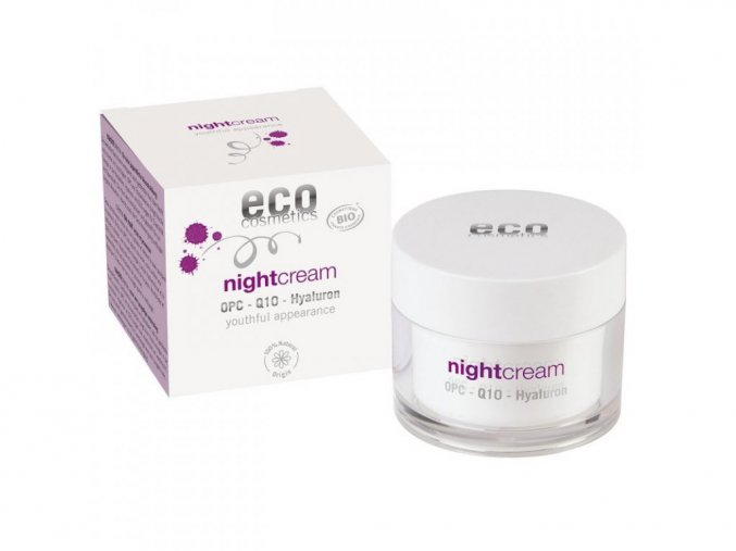 1365 eco cosmetics nocni krem pro narocnou plet bio 60 ml