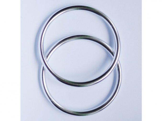ring sling krouzky na noseni deti stribrne lesk