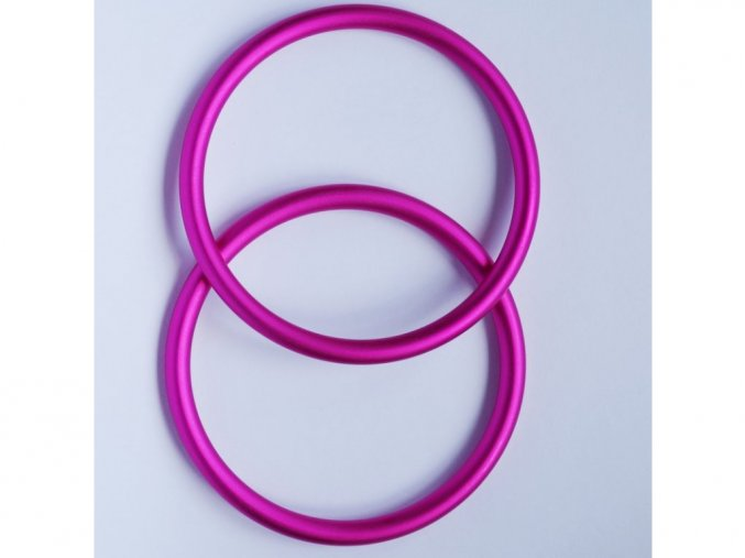 ring sling krouzky na noseni deti ruzove