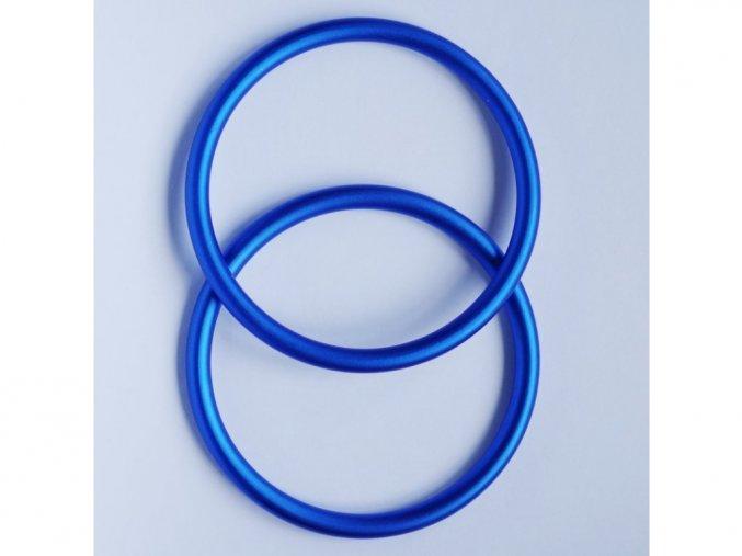 ring sling krouzky na noseni deti modre