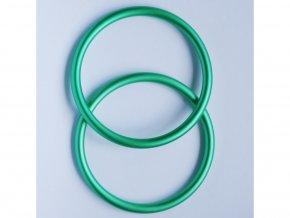 ring sling krouzky na noseni deti zelene