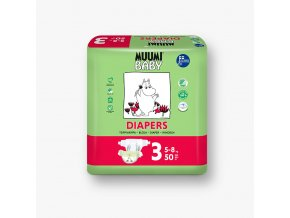 MB Diapers 3 5 8 50