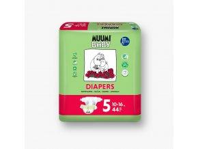 Muumi Baby plenky vel. 5 Maxi+ zapínací