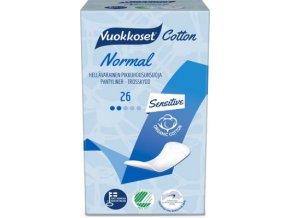 vuokkoset cotton 26 active normal pantyliner