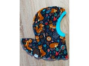 Zoella Merino kukla s oušky pro děti - lišky