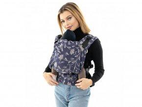 12173 ergonomicke nositko fidella fusion baby size floral touch eclipse blue