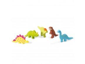 Tikiri Baby Dinosaurus z prirodnej gumy vsetky