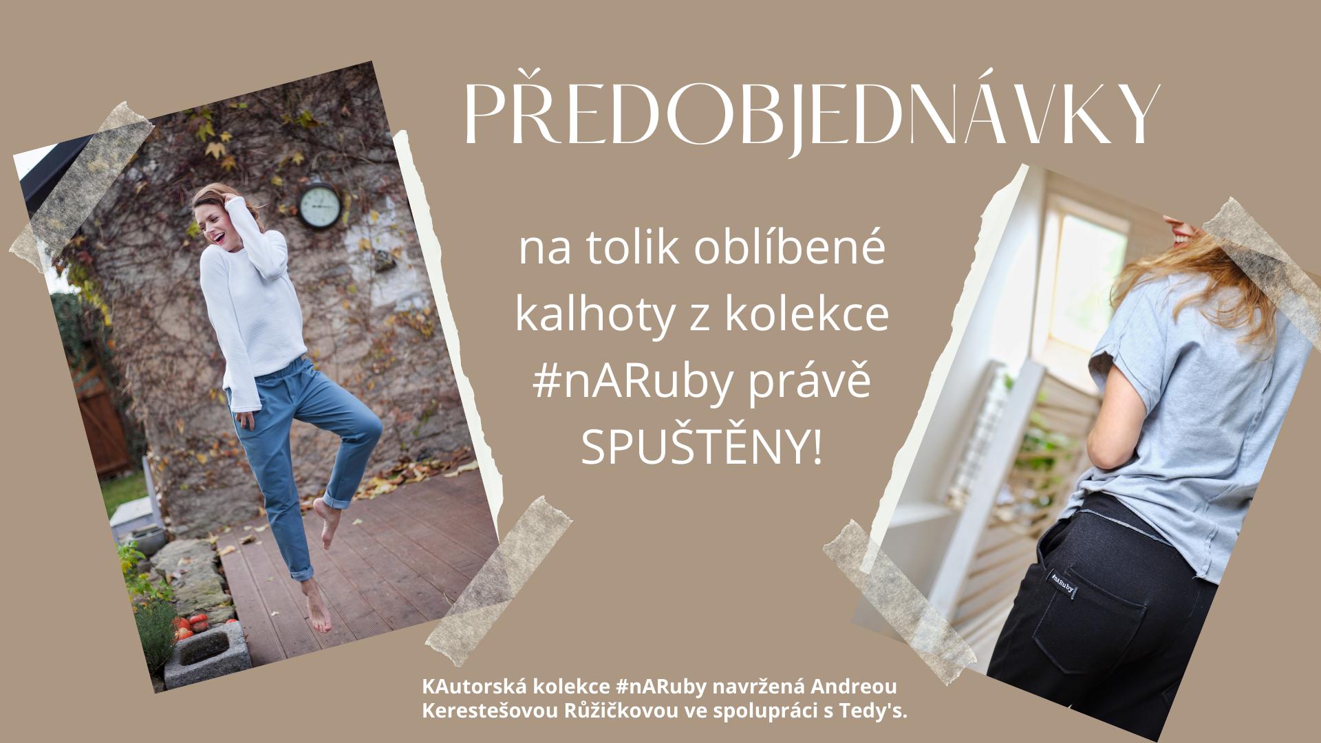 kalhoty #nARuby!